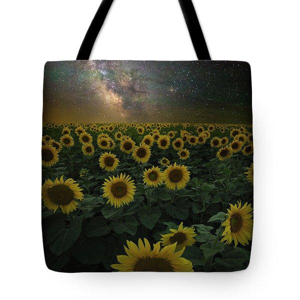 Night Of A Billion Suns Tote Bag