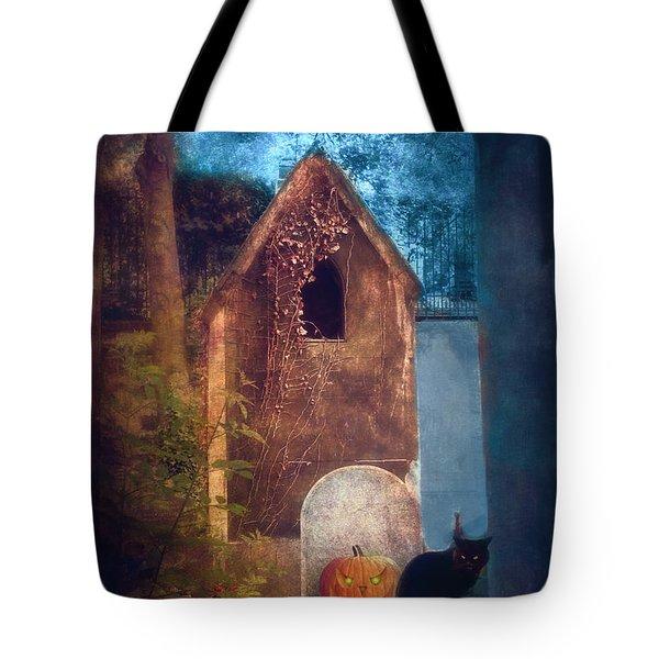 Night Of Halloween Tote Bag
