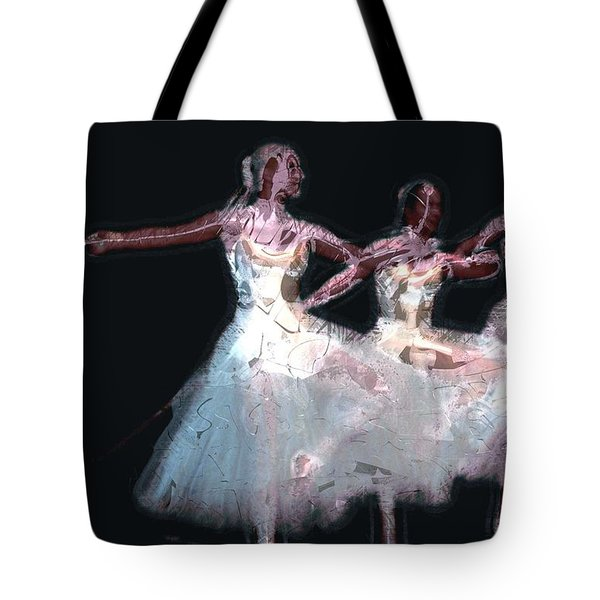 Night Of The Ballet Tote Bag