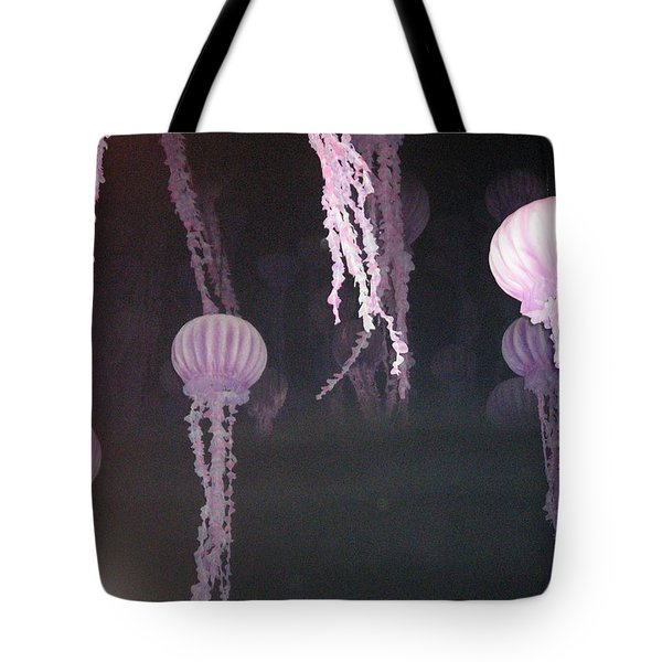 Night Of The Jellies Tote Bag
