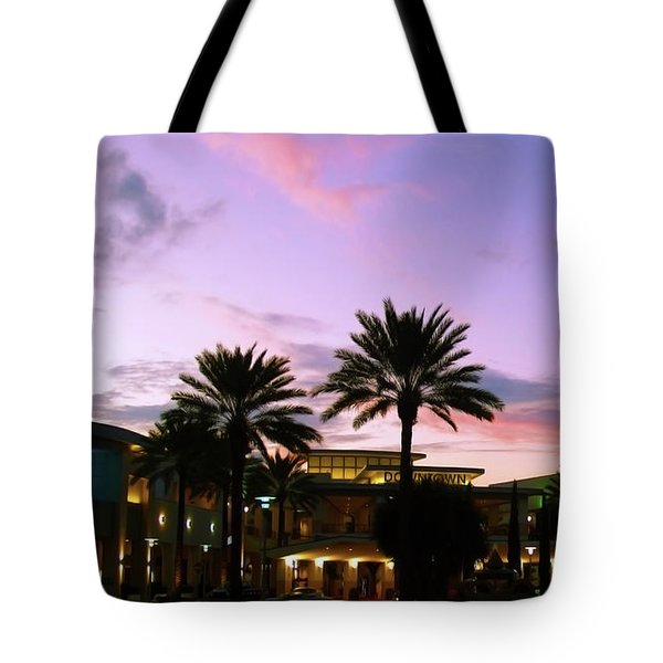 Night On The Town Palm Beach Florida Photo 515 Tote Bag
