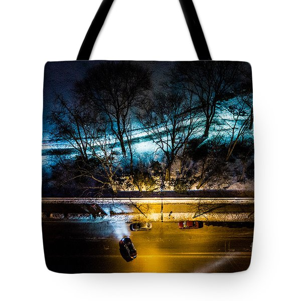 Tote Bag featuring the photograph Central Park by M G Whittingham