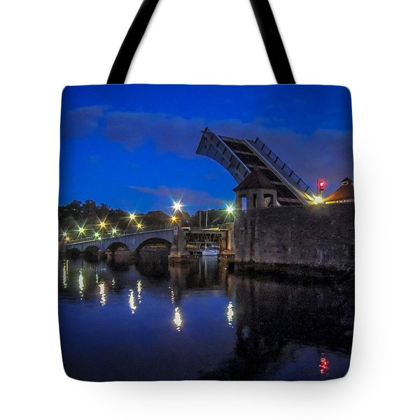 Tote Bag featuring the photograph Night Passage by Glenn Feron