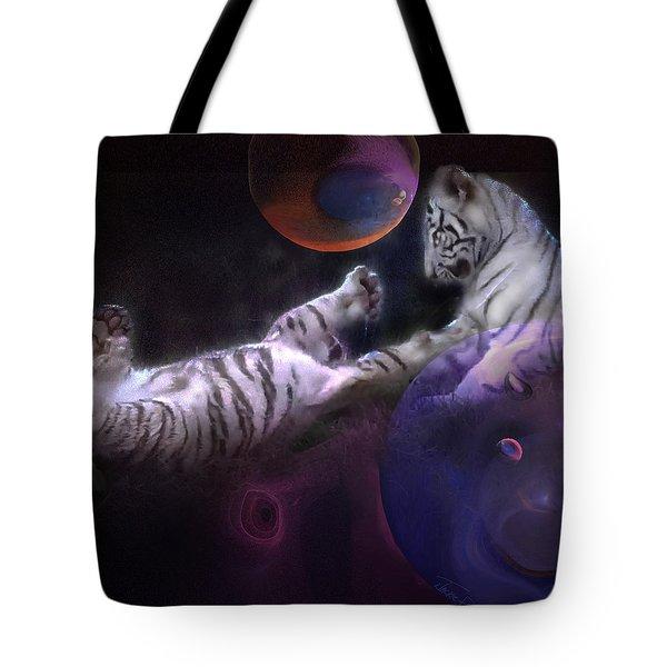 Night Play Tote Bag