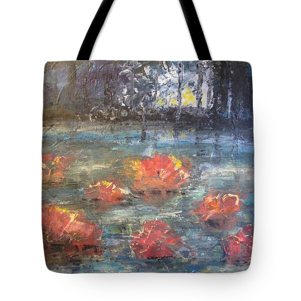 Night Pond Tote Bag