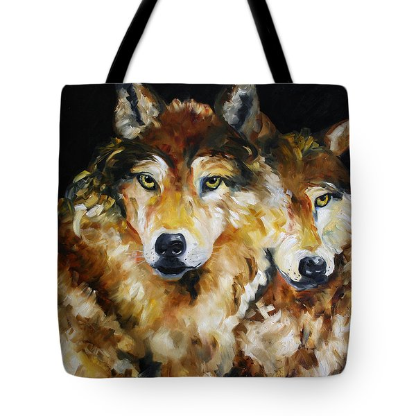 Night Power Tote Bag
