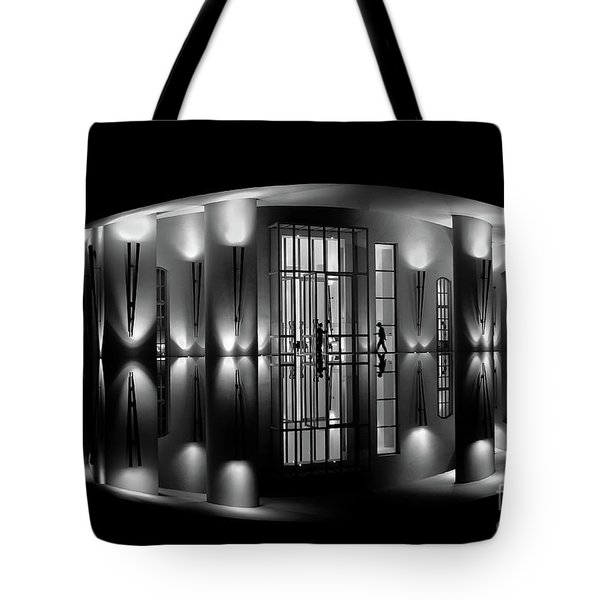 Night Reflection Tote Bag