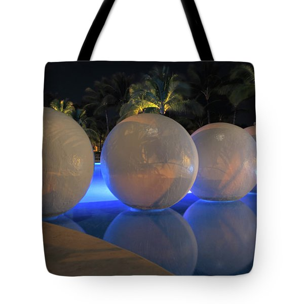 Tote Bag featuring the photograph Night Reflections by Shane Bechler