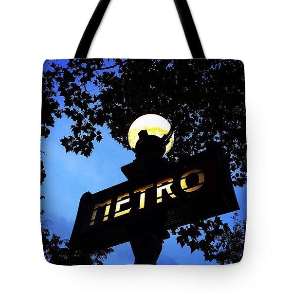 Night Ride Tote Bag