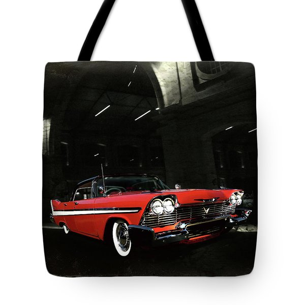 Night Ride Tote Bag by Steven Agius