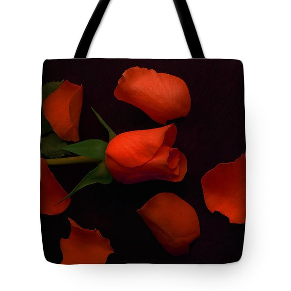 Night Rose 2 Tote Bag
