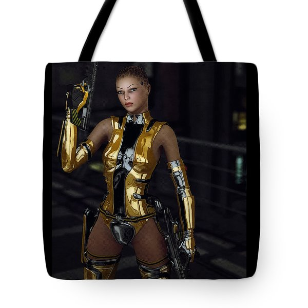 Night Runner Tote Bag by Maynard Ellis