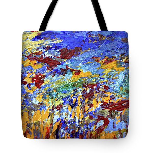 Night Sea Scape Tote Bag