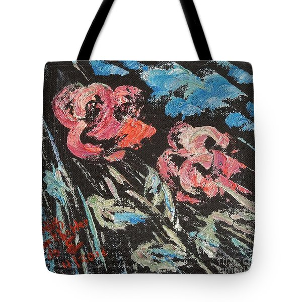 Night Shade Tote Bag