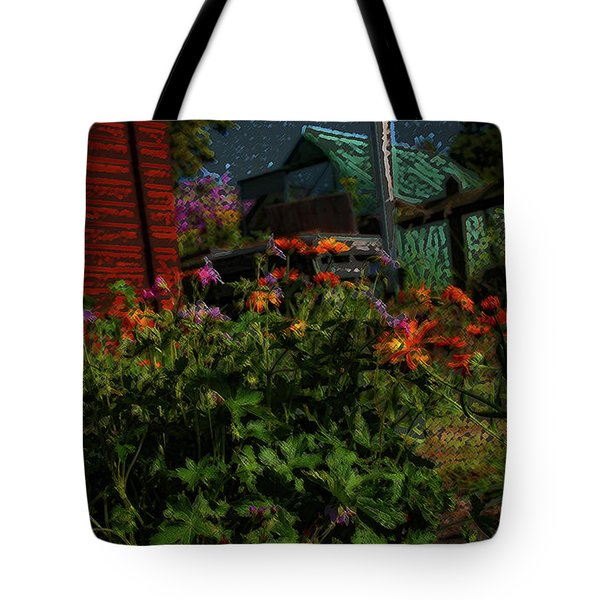 Night Shift For The Mice Tote Bag