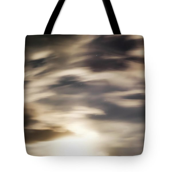 Night Sky 1 Tote Bag by Leland D Howard
