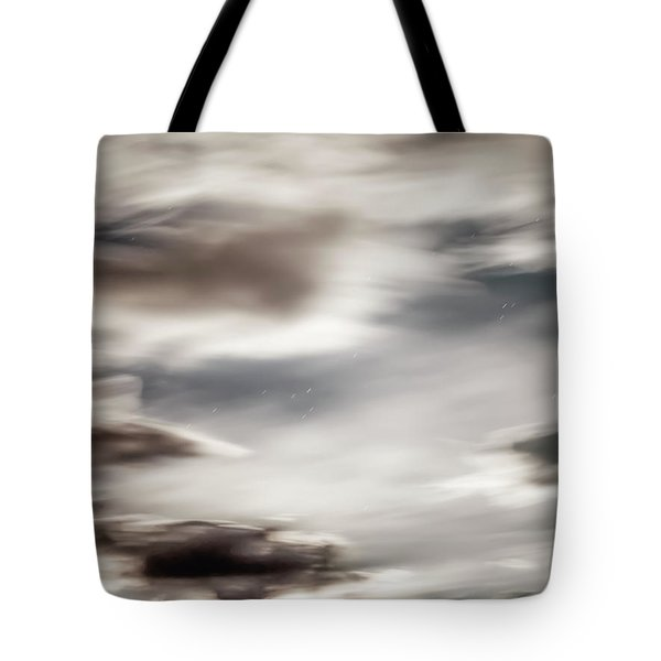 Night Sky 3 Tote Bag by Leland D Howard