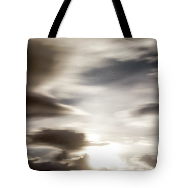 Night Sky 4 Tote Bag by Leland D Howard