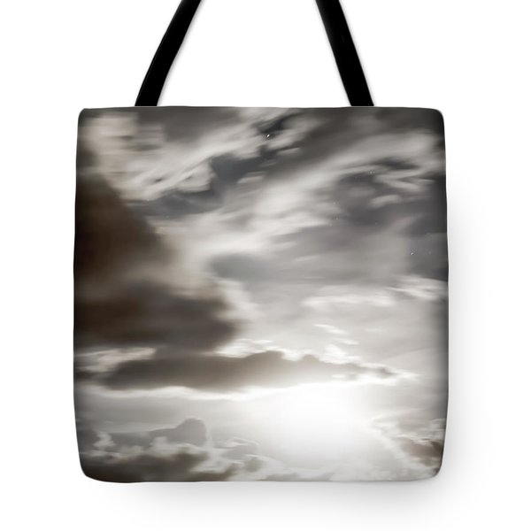 Night Sky 5 Tote Bag by Leland D Howard
