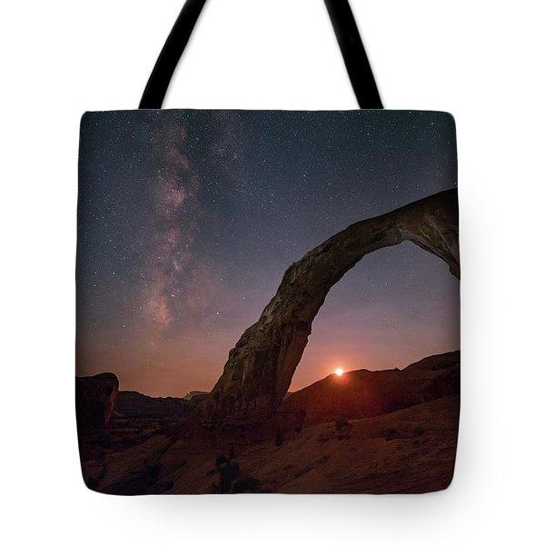 Night Sky At Corona Ach Tote Bag