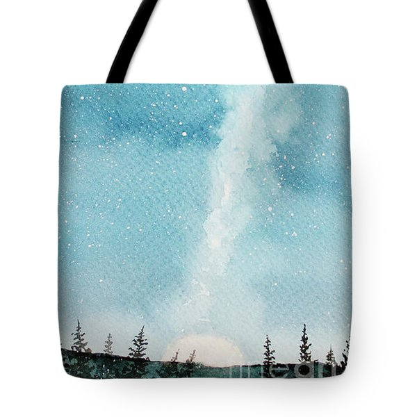 Night Sky Tote Bag by Rebecca Davis