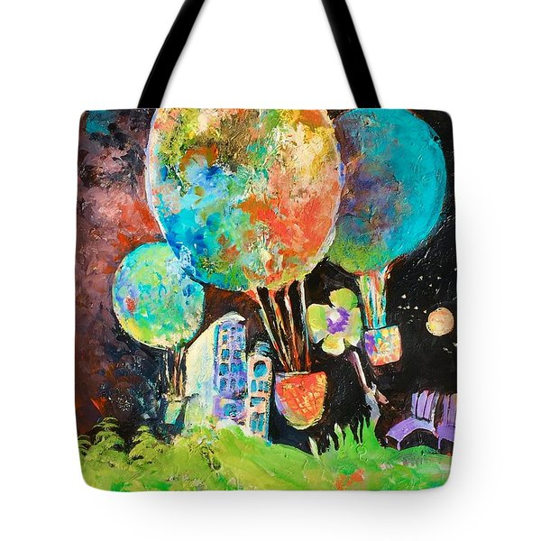 Night Soaring Tote Bag