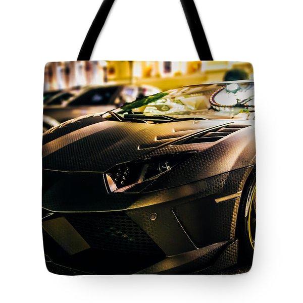 Night Soul Tote Bag