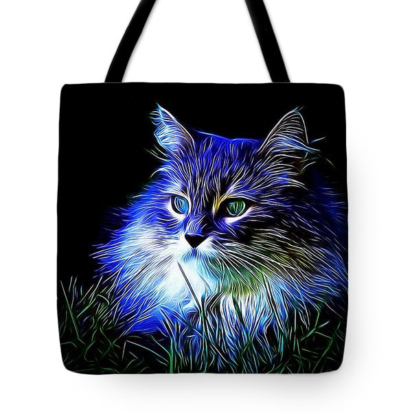 Night Stalker Tote Bag