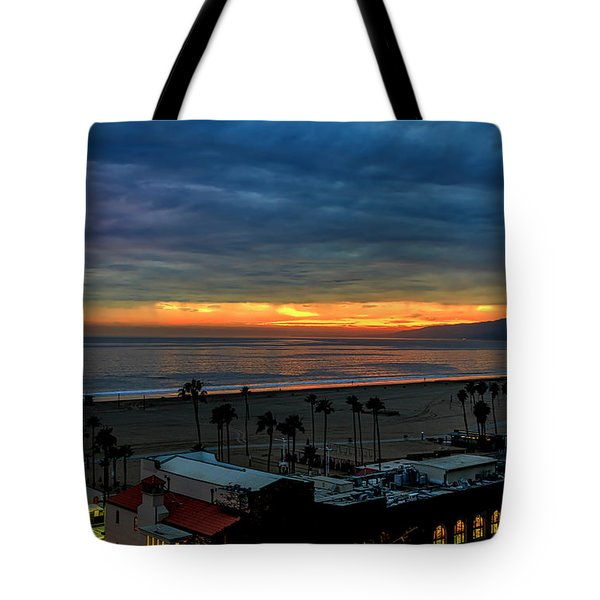 Night Tennis Anyone Tote Bag