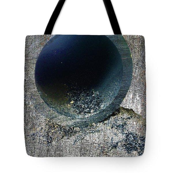 Tote Bag featuring the mixed media Night by Tony Rubino