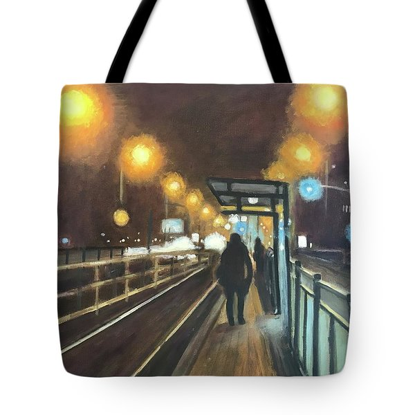 Night Train  Tote Bag