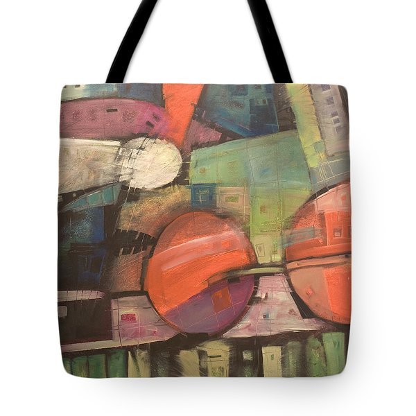 Night Train Tote Bag by Tim Nyberg
