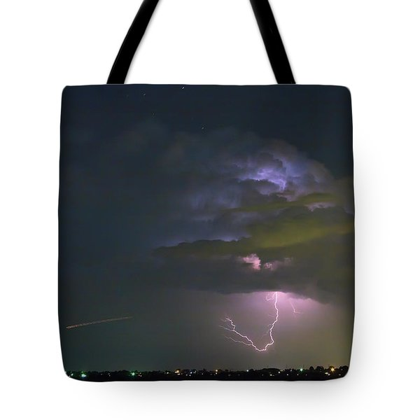 Tote Bag featuring the photograph Night Tripper by James BO Insogna