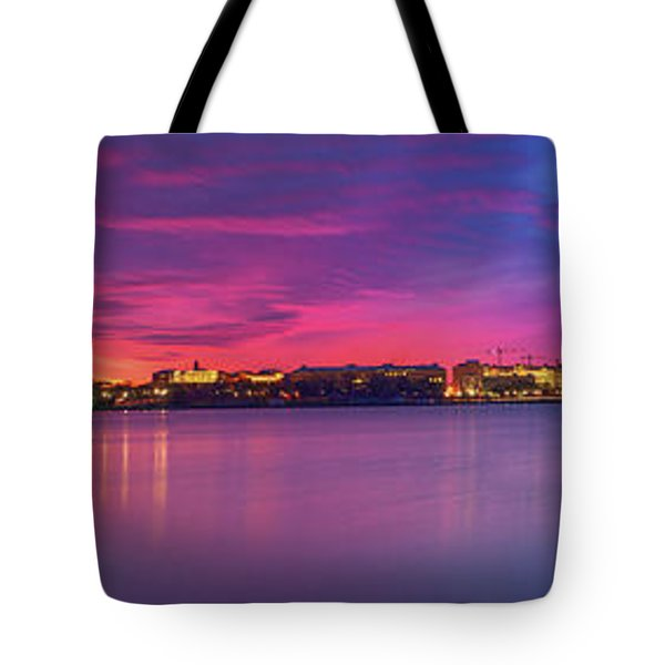 Tote Bag featuring the photograph Night Unto Day by Edward Kreis