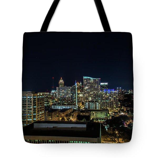 Night View  Tote Bag