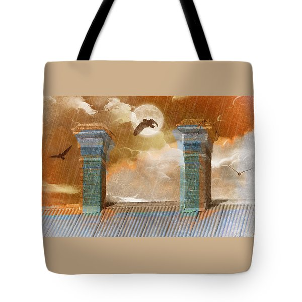 Night Vision Tote Bag by Holly Kempe