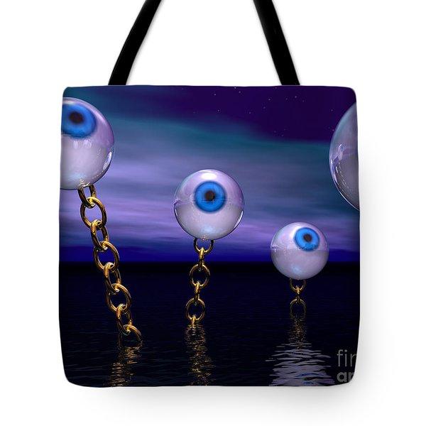 Night Vision Tote Bag by Phil Perkins