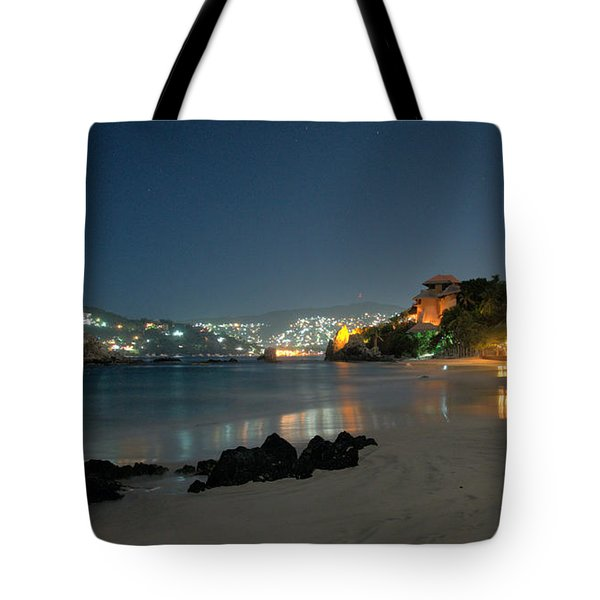 Night Walk On La Ropa Tote Bag by Jim Walls PhotoArtist