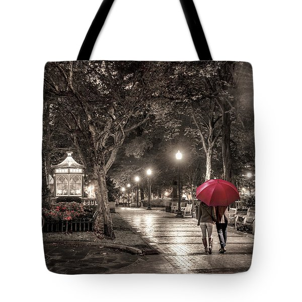 Night Walk Tote Bag