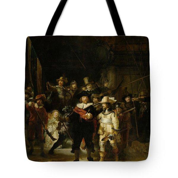 Night Watch, 1642 Tote Bag
