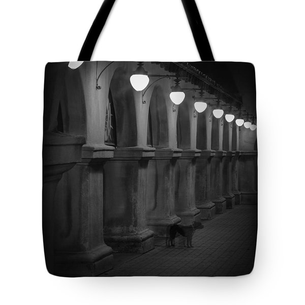 Night Watchman Tote Bag