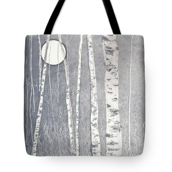 Night Watchmen Tote Bag by Lisa Le Quelenec