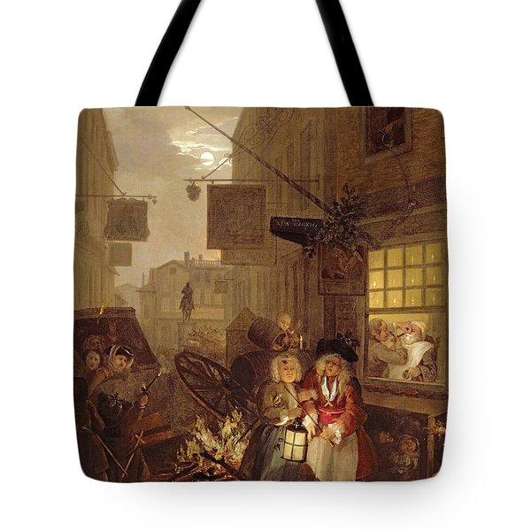 Night Tote Bag by William Hogarth