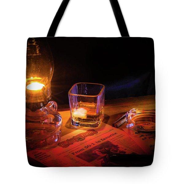 Night Work Tote Bag by Mark Dunton
