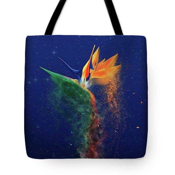 Nightbird Tote Bag by Kenneth Armand Johnson