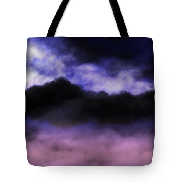 Tote Bag featuring the painting Nightfall by Mark Taylor