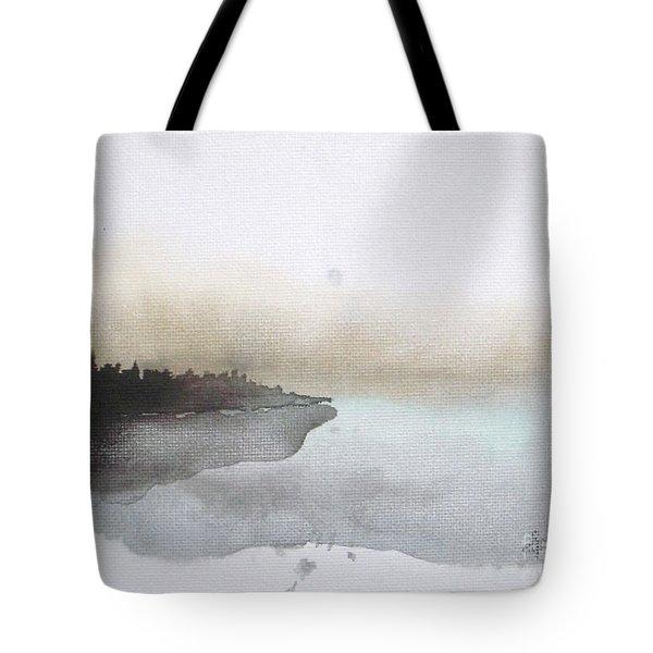 Nightfall On The Lake  Tote Bag