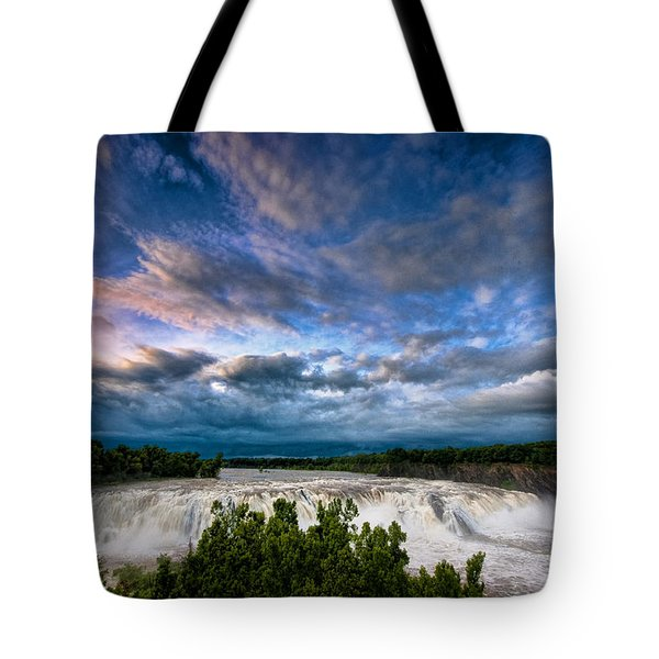 Nightfalls Tote Bag