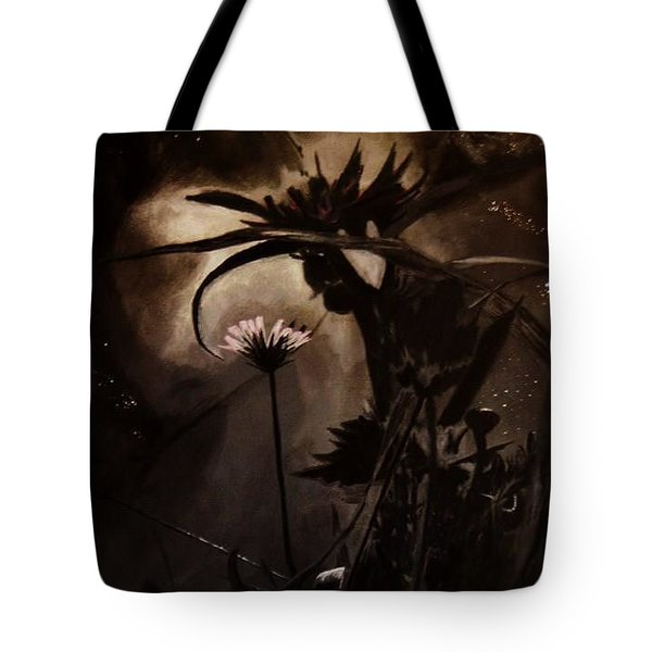 Nightflower Tote Bag by Vanessa Palomino