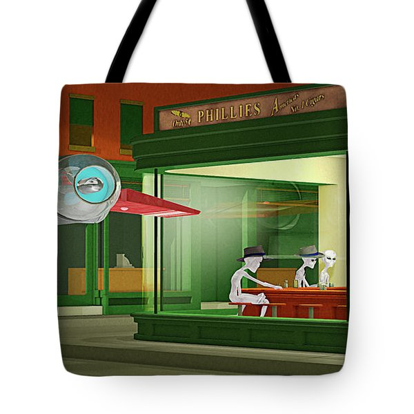 Nighthawks Invasion Tote Bag